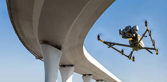 I droni alleati della sicurezza, così la tecnologia aiuta il monitoraggio di ponti