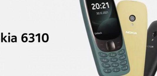 Nokia ritorna con il 6310, il classico riadattato ai tempi moderni