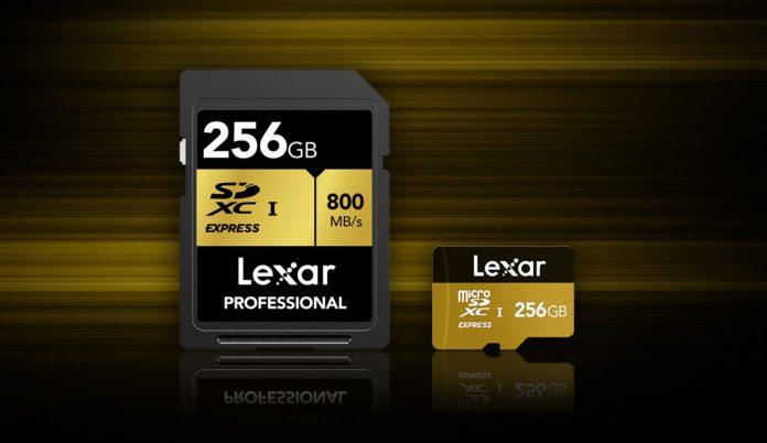 LEXAR annuncia lo sviluppo delle schede di memoria SD EXPRESS