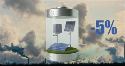 inquinamento atmosferico abbatte la resa degli impianti fotovoltaici