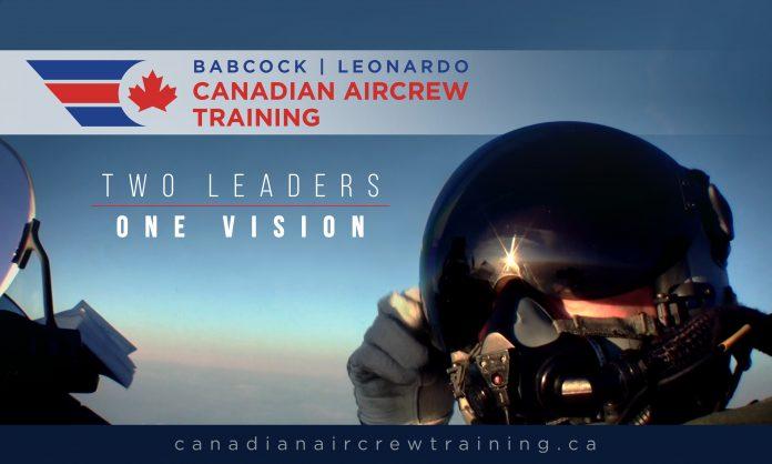 Babcock Canada e Leonardo Canada insieme per il programma di addestramento dei piloti militari canadesi FAcT