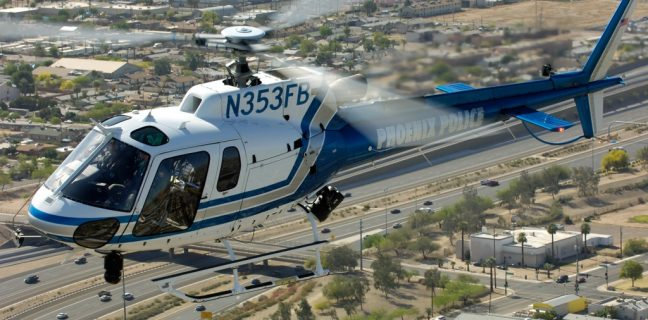 Il Dipartimento di Polizia di Phoenix aggiorna la flotta con cinque nuovi elicotteri Airbus H125