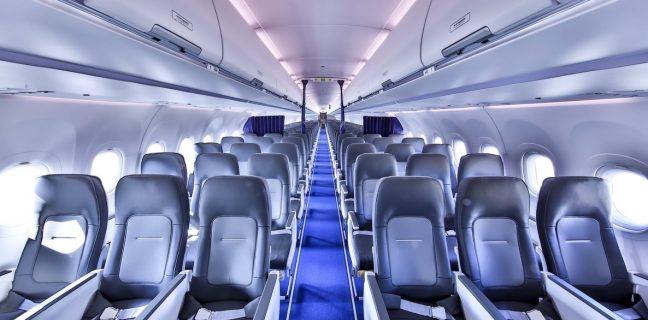 La nuova cabina Airspace a corridoio singolo di Airbus entra in servizio con il gruppo Lufthansa