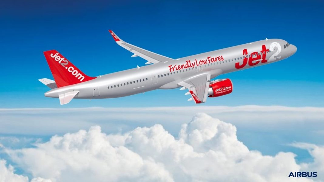 Jet2.com ordina 36 A321neo, diventando un nuovo cliente Airbus