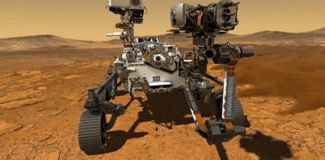 Marte: la navicella della Nasa Perseverance ha prelevato un campione di roccia dal pianeta