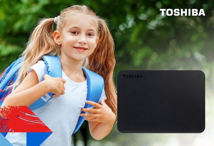 Canvio Basics Toshiba, il compagno di scuola che non deve mancare