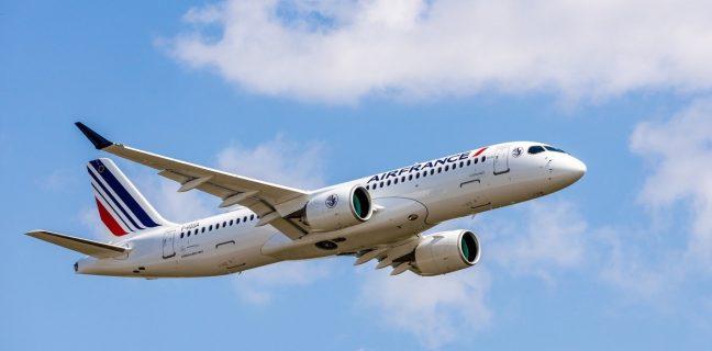 Airbus consegna il primo di 60 A220 ad Air France