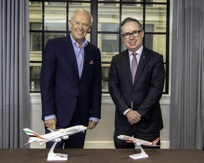 Emirates e Qantas estendono la loro partnership