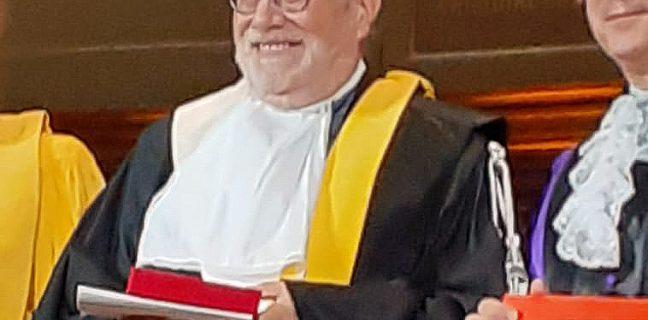 Alla Sorbona conferito il Dottorato honoris causaal Prof.Ortoleva