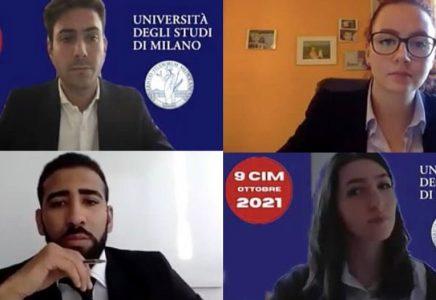 L'UNIVERSITÀ STATALE DI MILANO VINCE LA MEDAGLIA D'ARGENTO NEL CAMPIONATO NAZIONALE DI MEDIAZIONE