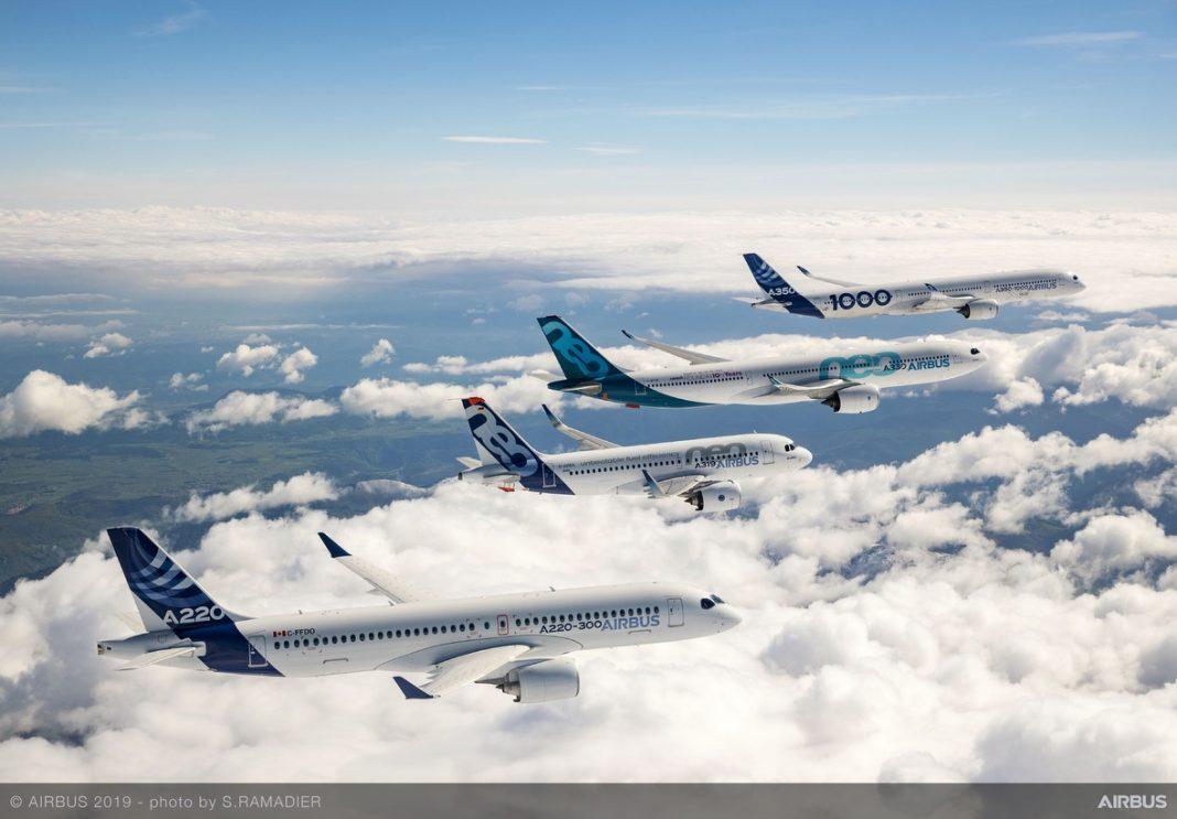 Airbus conferma l'accordo con ITA per la flotta