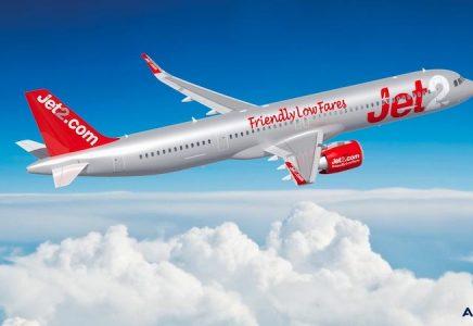 Jet2.com ha effettuato un ulteriore ordine per 15 Airbus A321neo dopo quello iniziale di 36 effettuato nell'agosto 2021
