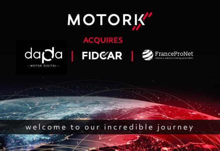 MotorK annuncia l'acquisizione di Dapda Fidcar e FranceProNet