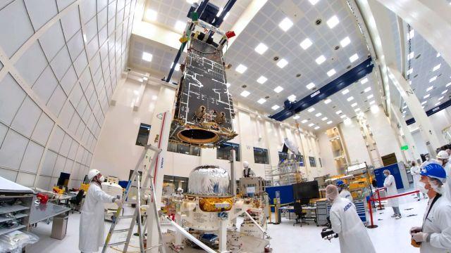 Il satellite meteorologico MetOp-SG B va a razzo